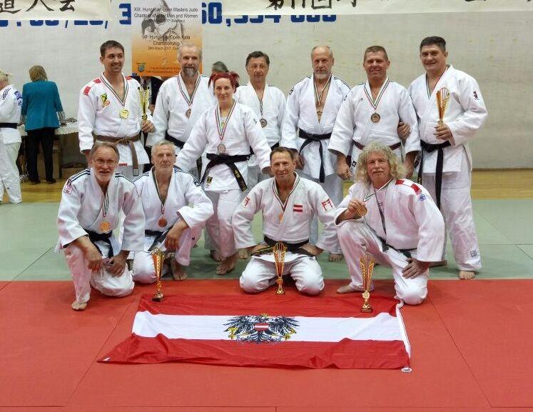 Veteranen Team Ungarn 2017