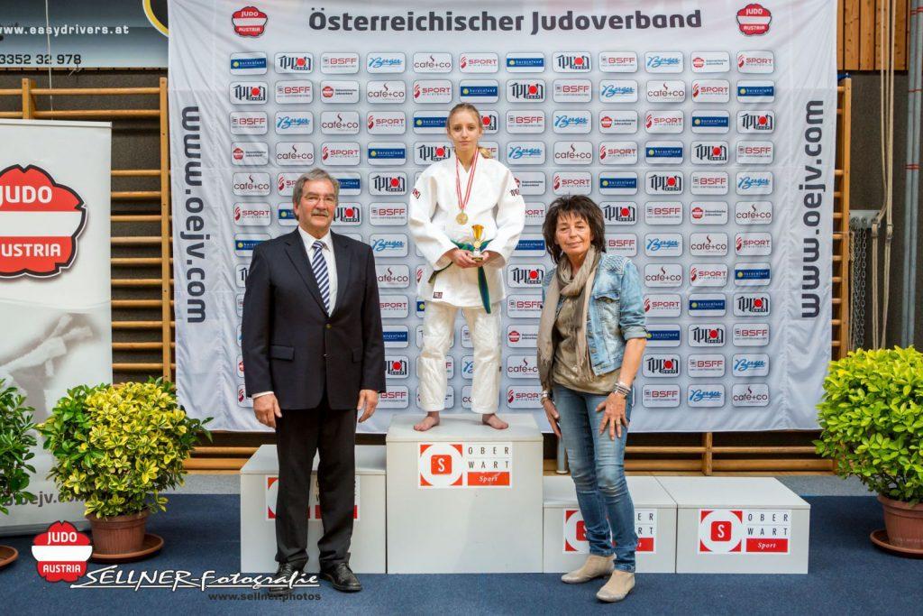 Österreichische Meisterschaften 2017 U16 - Siegerehrungen